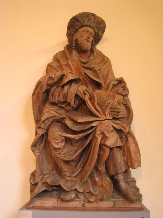 Hans Leinberger, St James, c.1520-25, limewood, traces of pigment (Munich, Bayerisches Nationalmuseum)